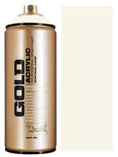 Montana Gold Artist Spray Paint  Shock White Cr