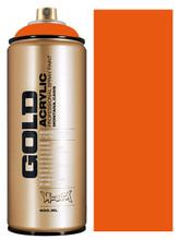 Montana Gold Artist Spray Paint  Shock Orange