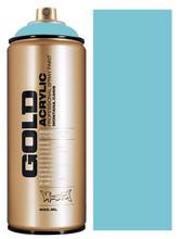 Montana Gold Artist Spray Paint  Shock Blue Light