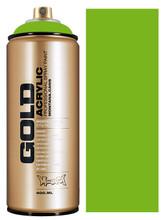 Montana Gold Artist Spray Paint  Shock Green Light