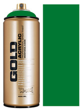 Montana Gold Artist Spray Paint  Shock Green