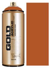 Montana Gold Artist Spray Paint  Shock Brown Light