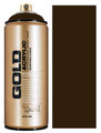 Montana Gold Artist Spray Paint  Shock Brown Dark
