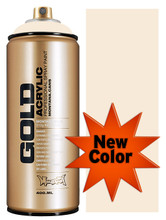Montana Gold Artist Spray Paint   Bone