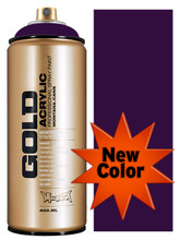Montana Gold Artist Spray Paint   Black Purple