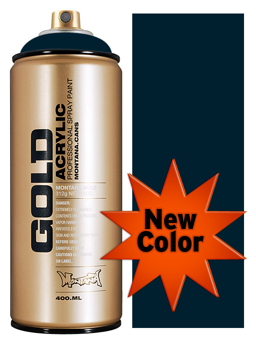 Montana Gold Artist Spray Paint Navy