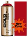 Montana Gold Artist Spray Paint   Shock Kent Blood Red