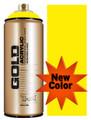Montana Gold Artist Spray Paint   100% Yellow