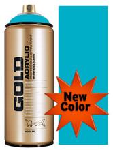 Montana Gold Artist Spray Paint   100% Cyan