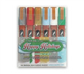 Chalk Ink Happy Holidays Wet Wipe Markers (Set of 6), 6 mm