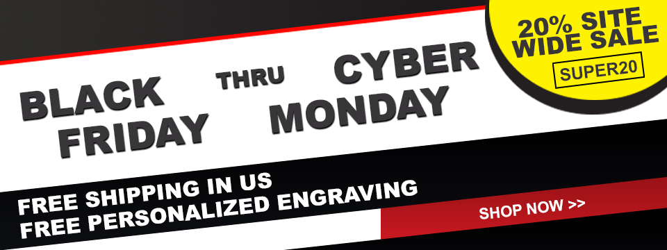 Black Friday thru Cyber Monday Sale