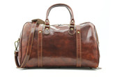 Milano Travel Leather Bag | Honey
