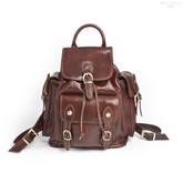 Vicenza Backpack | Brown | Large main compartment