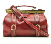 Tavoli - leather bag | Red