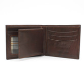 Verona - Billfold with Weekend Wallet Dark Brown