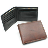 Alberto Bellucci - Rome Billfold with Coin Pocket