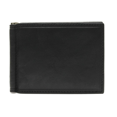 Tuscany - Bill Clip Wallet Black
