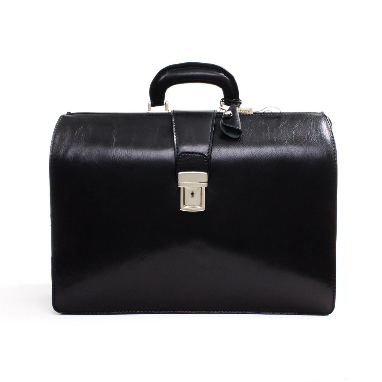 Black Alberto Bellucci Briefcase