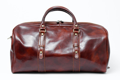 Florentina Italian Leather Travel Bag | Brown