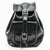 Alberto Bellucci The Bardi Italian Leather Backpack | Black