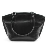 Alexsa Italian Handbag in Black