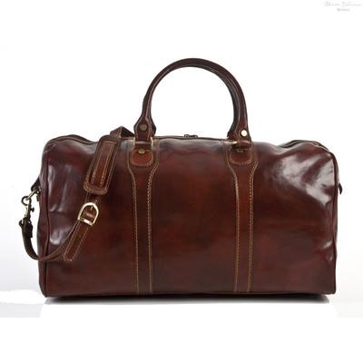 Amato Duffel Bag | Color Brown
