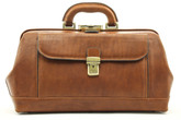 Bernini Exclusive Leather Doctor Bag From Alberto Bellucci | Front View