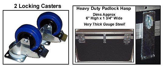 Cable Trunk Casters