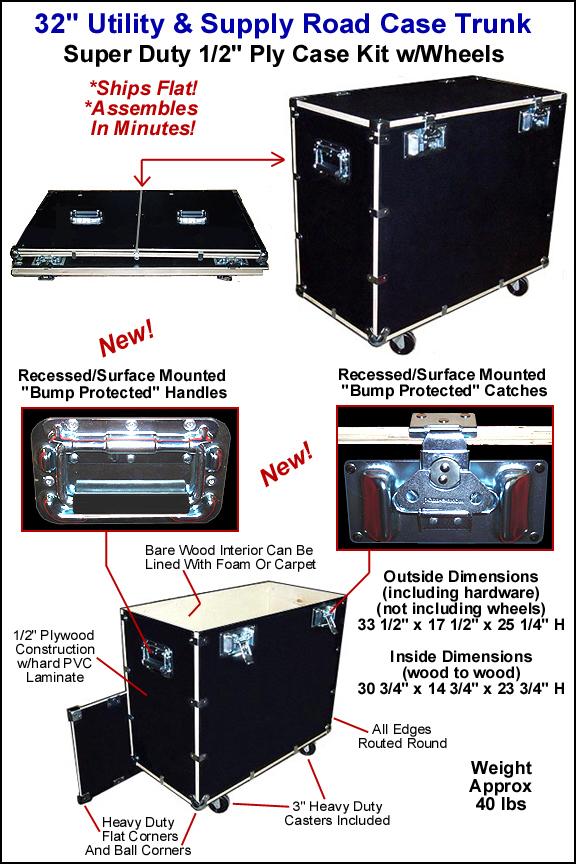 Super Duty Utility Trunk Case Kit