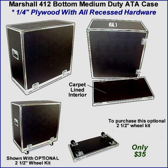 AVT412XA AVT412XB MG412 412 SPEAKER CABINET CASES. Inside Dimensions (carpet to ...