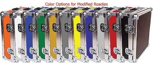 color options for modified road cases