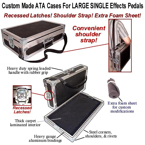 effects pedal cases