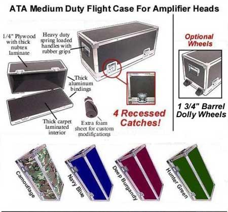 amp head cases