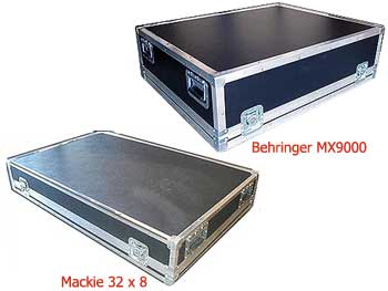 mackie and behringer mixer case
