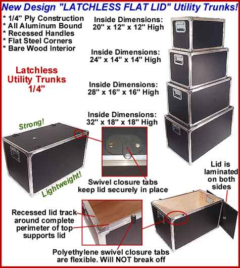 trunk cases and utility cases