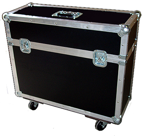 LCD and Monitor Case Casters