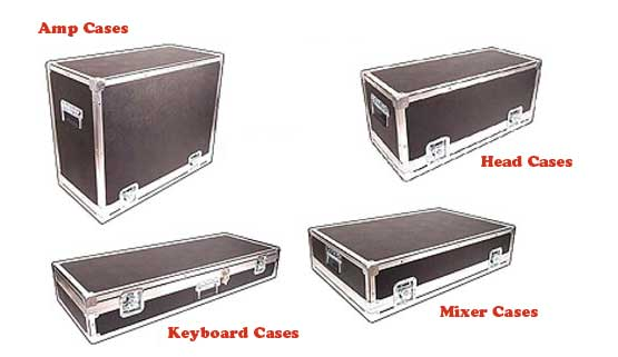 Level 1 - LiteFlite Series Amp Cases With Recessed Hardware