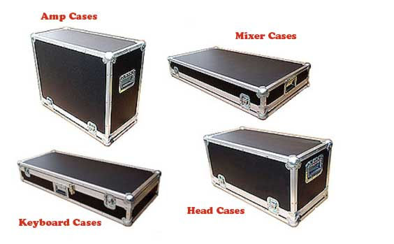 Level 2 Roadie Jr Series Custom Cases with All Recessed Hardware