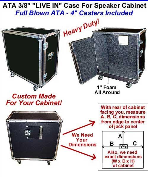 speaker cabinet cases