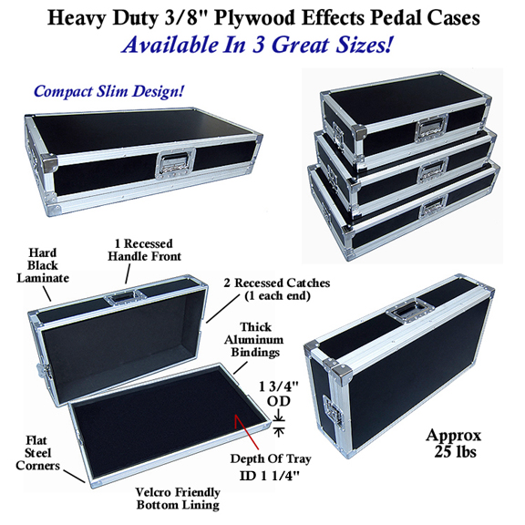 pedal board cases