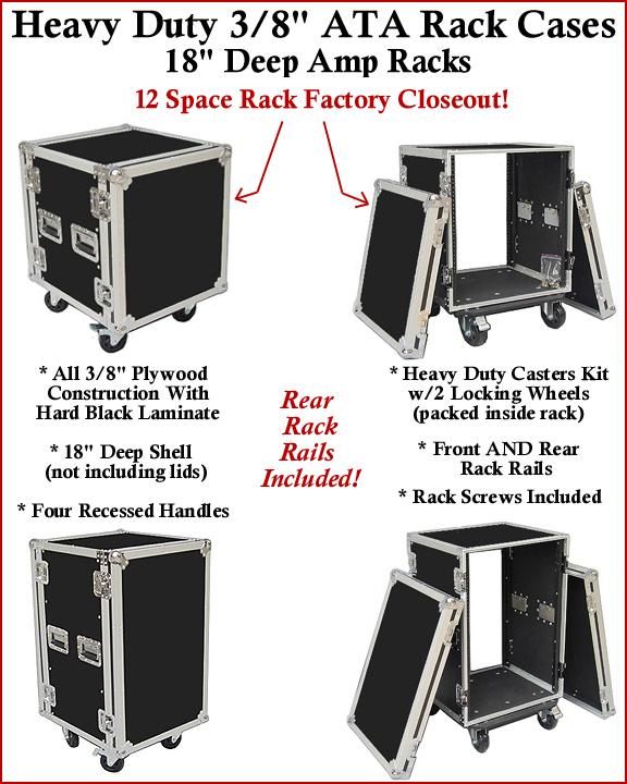ATA Amp Rack Case
