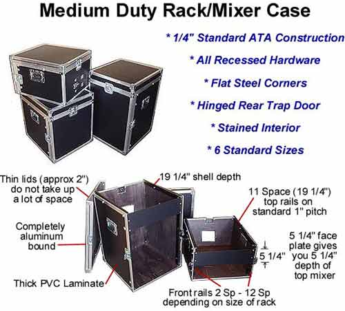 rack cases & mixer cases