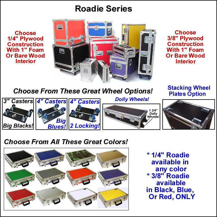 roadie series standard cases