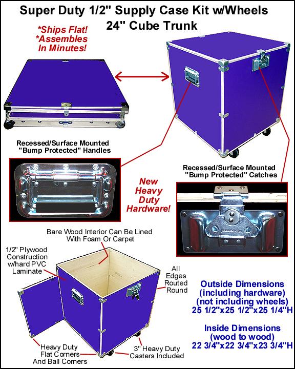 Utility Trunk & Utility Case