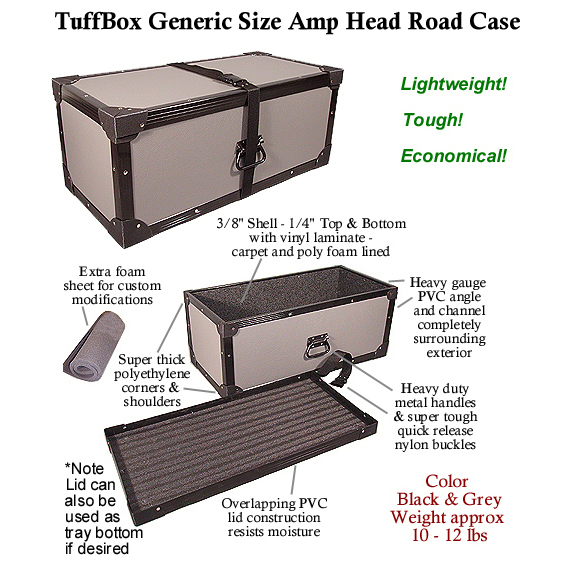 TuffBox Amp Head Cases