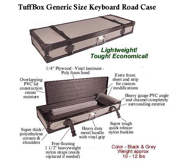 TuffBox Keyboard Cases