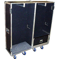 "Wardrobe Heavy Duty 3/8"" Plywood ATA Case - Double Sided"