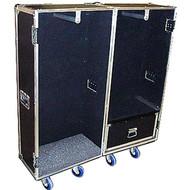 """Wardrobe Heavy Duty 3/8"""" Plywood ATA Case - Double Sided"""