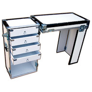 """Convertible ATA 3/8"""" Case for Convention Furniture - 4 Drawer Desk Case"""