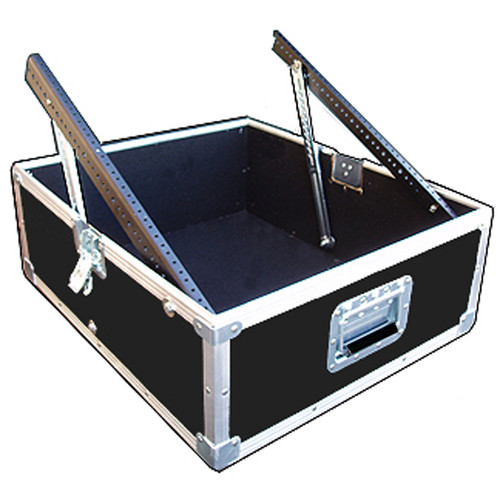 Pop Up ATA Mixer Cases Available in 2 Sizes 12 Space and 14 Space Fully adjustable ratchet rails